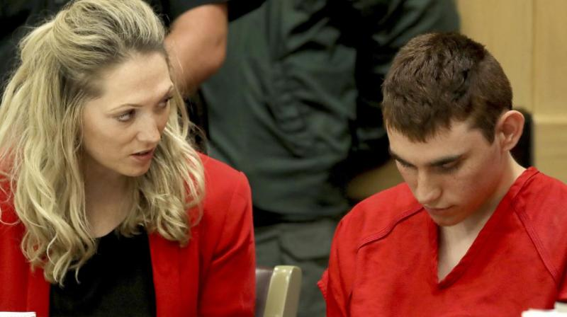 Nikolas Cruz 19 chose to remain silent during a hearing in Broward County circuit court in Fort Lauderdale