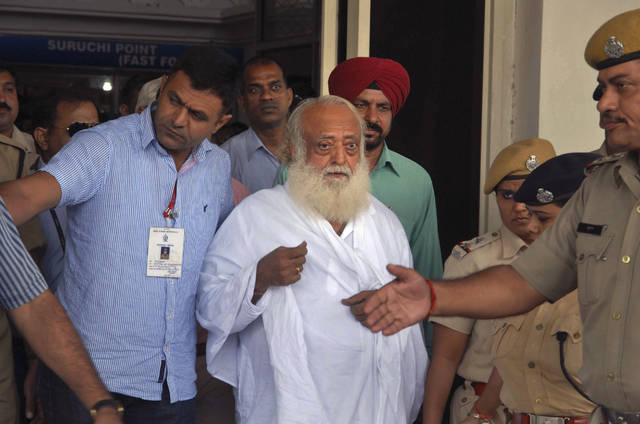Asaram and 2 aides convicted; 2 other co-accused acquitted