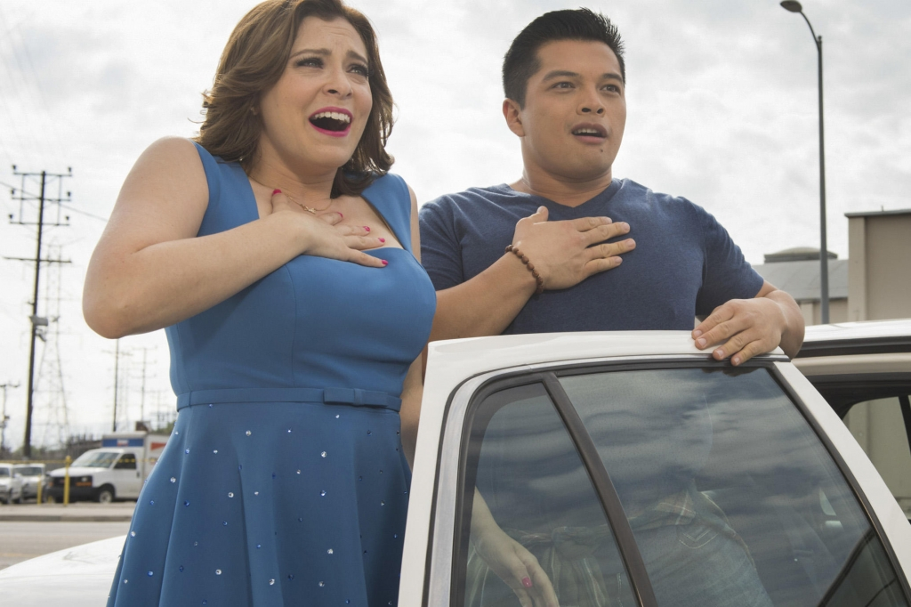 Rachel Bloom and Vincent Rodriguez Crazy Ex-Girlfriend