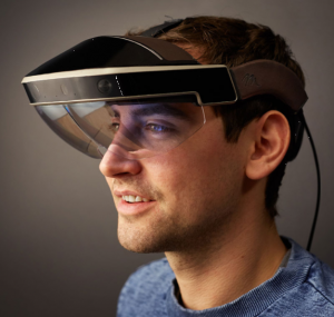 Meta's wearable is much less isolating than a full VR headset but still fairly hefty