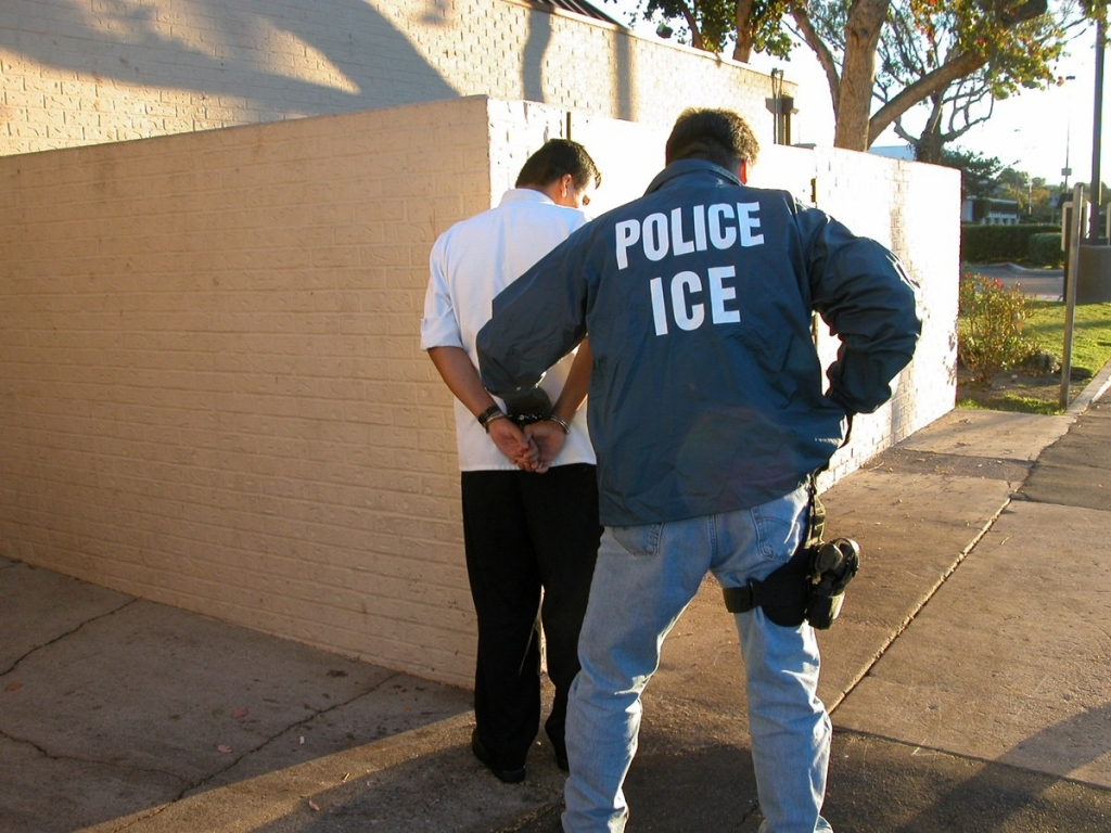 ICE U.S. Immigration and Customs Officer