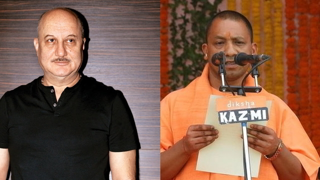 Watch When Anupam Kher wanted UP CM Yogi Adityanath 'arrested#039 and 'thrown out' of BJP