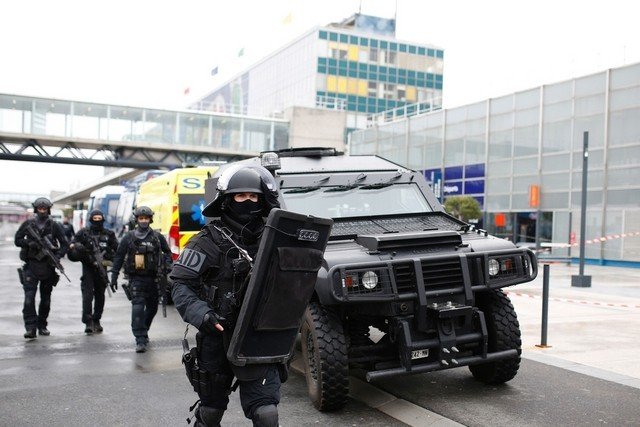 People are going to die' man shot at Paris airport told troops
