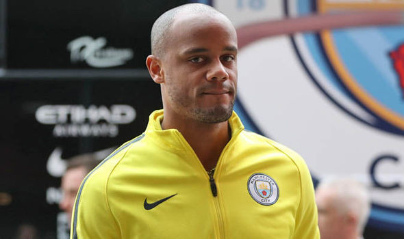 Vincent Kompany was left out of the squad to face Monaco despite being deemed fit to play