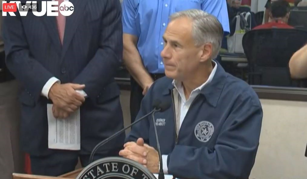 Texas Gov. Abbott: Houston suffering 'once-in-a-lifetime flooding event'