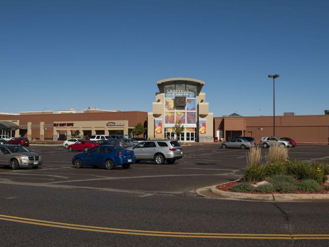 The Crossroads Center mall reopened on Monday. Picture: Stephen Maturen/Getty Images/AFP