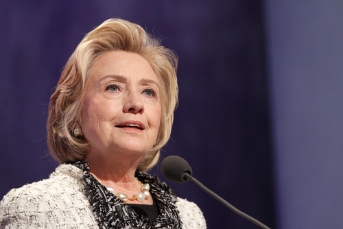 Hillary Clinton attends a Clinton Global Initiative Annual Meeting