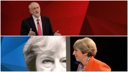 Theresa May is expected to win comfortably in the UK general election