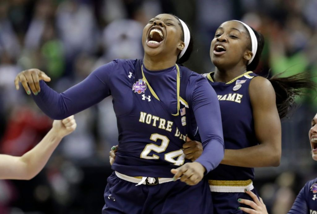 Noie: Biggest shot in program history sends Arike Ogunbowale, Notre Dame to title game