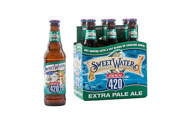 Low-Carb Beers: Sweetwater 420 Extra Pale Ale