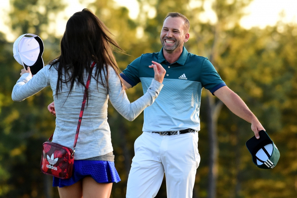 Sergio Garcia celebrates his Masters win with a very good morning-after tweet