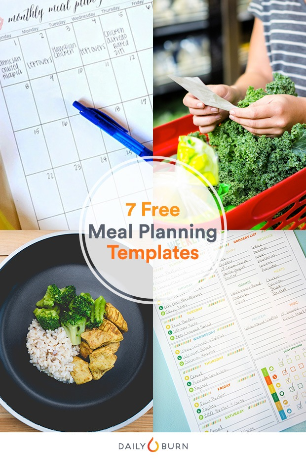 Printable Meal Planning Templates