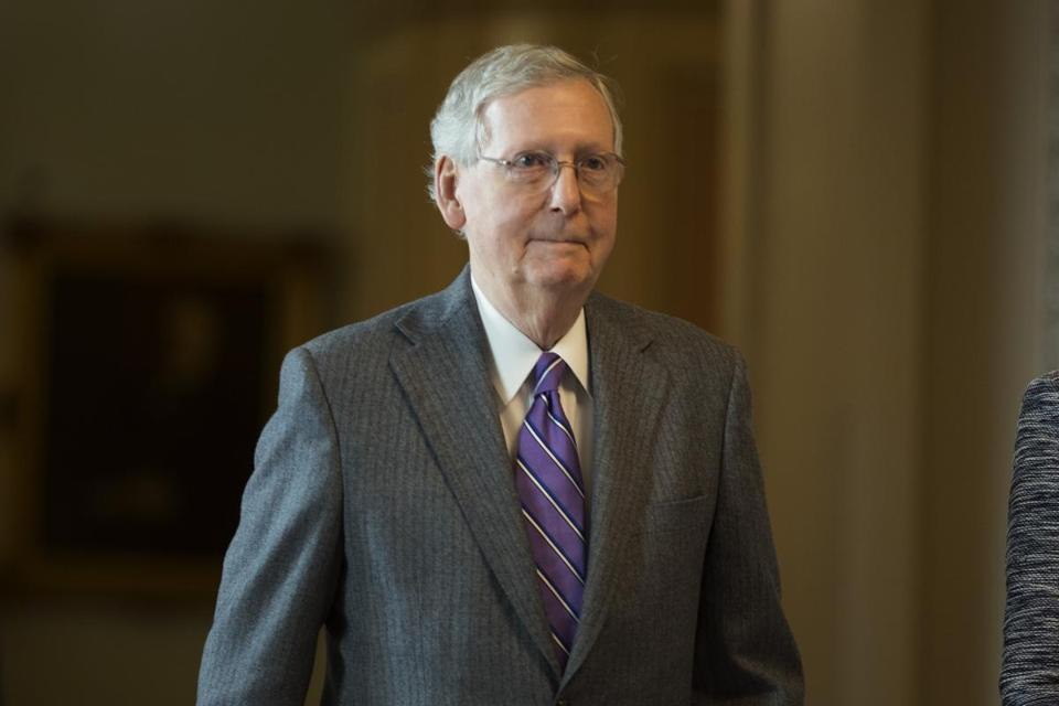 Senate majority leader Mitch McConnell's move will complicate campaiging for senators holding onto vulnerable seats