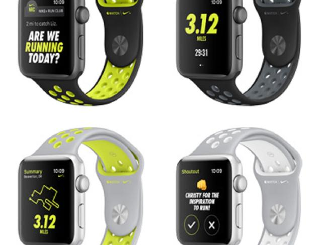 Apple Watch Nike +. Picture: Apple