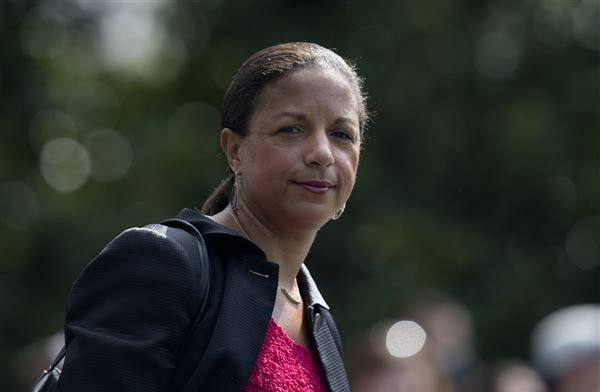 Susan Rice, under Trump's fire, to be in Rochester Saturday