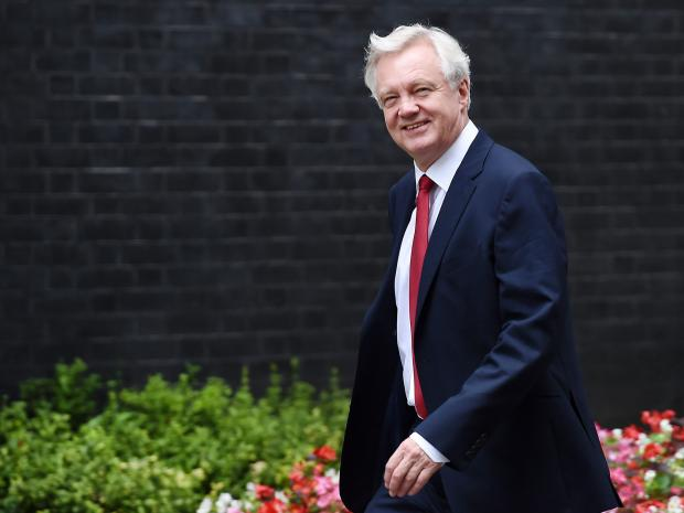 David Davis delivers his Brexit prophesy and manners out behind doorway deals and second referendum