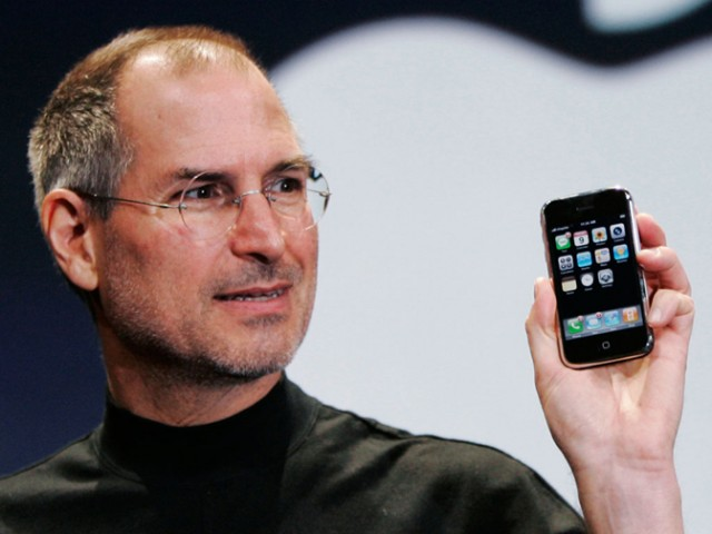 Steve Jobs and the original iPhone