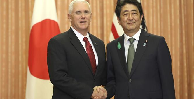 The Latest Japan says differences with US on economic talks