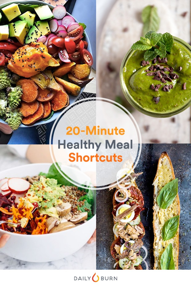 10 Brilliant Dinner Shortcuts for Healthy 20-Minute Meals