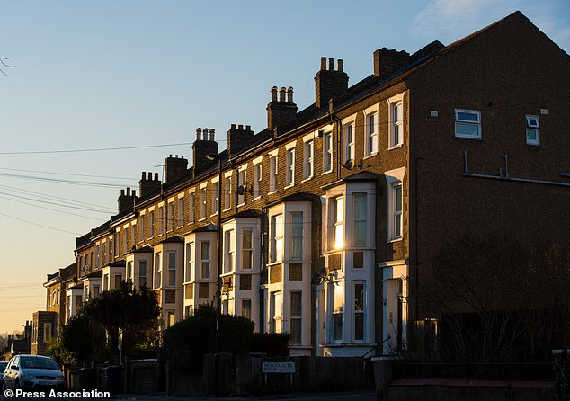 Terraced residential houses in south east London