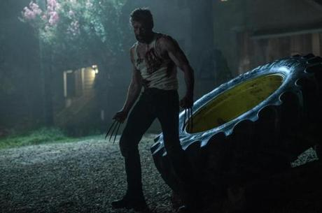 "Hugh Jackman reprises his Wolverine character in ""Logan."""