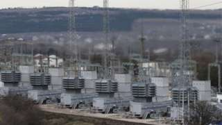 Ukrainian power station