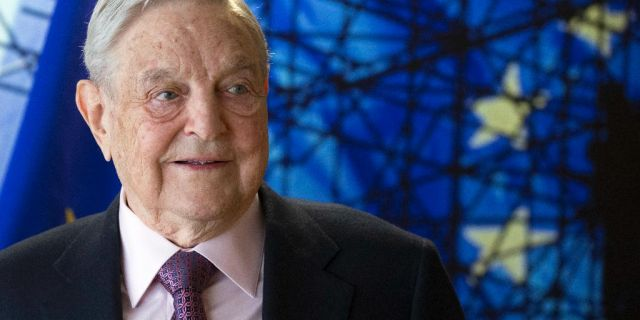 Billionaire George Soros whodonated $1.5 million to Center for Popular Democracy in 2016 and 2017 through his philanthropy organization Open Society Foundations the records show
