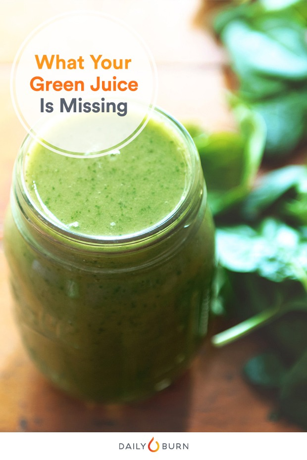 Is Your Green Juice Missing One of These Key Ingredients?