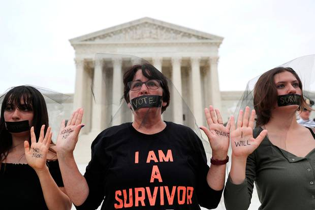 Anger The claims by Christine Blasey Ford divided the US and sparked protests in her support