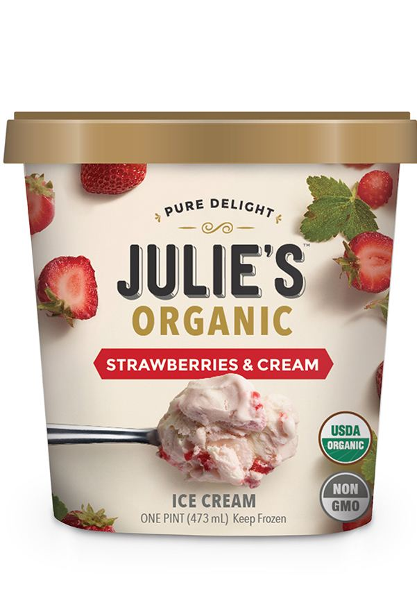9 Healthy Ice Cream Brands You'll Devour With Zero Regrets: Julie's Organic Ice Cream
