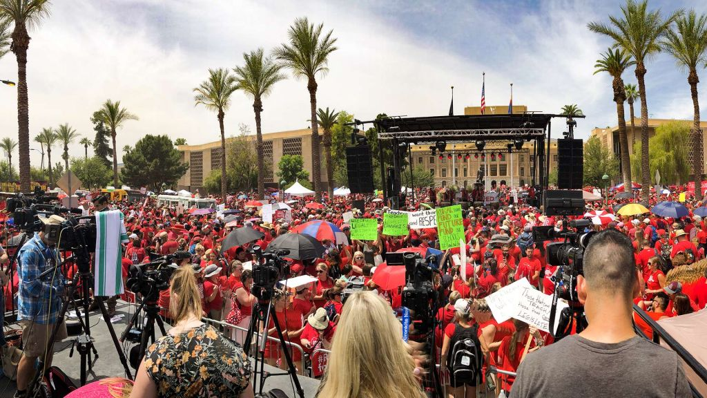 RedForEd Rally thumb