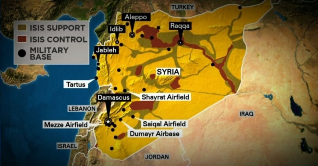 The United States launched a military strike on Syrian government targets in retaliation for their chemical weapon attack on civilians earlier in the week CNN is told. On President Donald Trump's orders US warships launched 50 Tomahawk cruise missiles