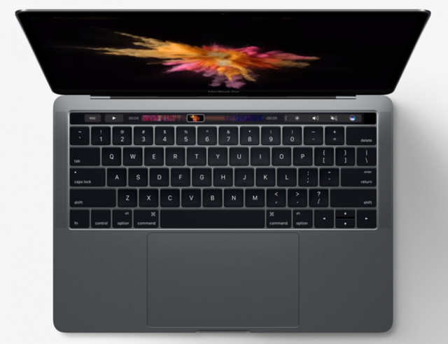 Apple's newest Macbooks feature a nifty Touch Bar and increased hard drive options