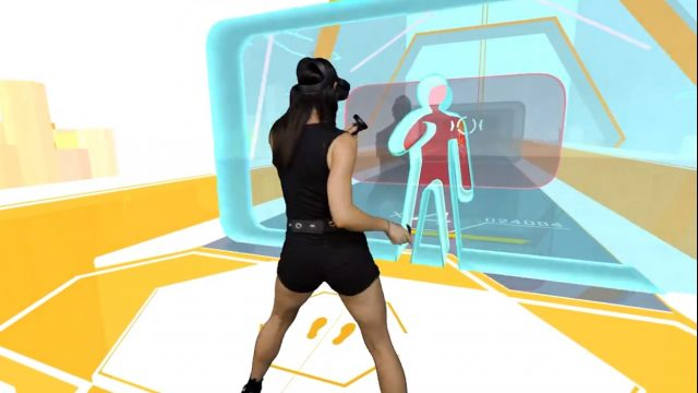 OhShape provides a full-body workout set to music