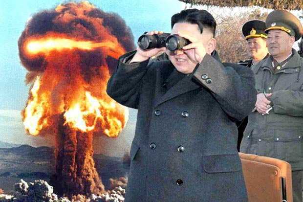 GETTY       TERRIFYING North Korea has threatened to launch missiles'at any time