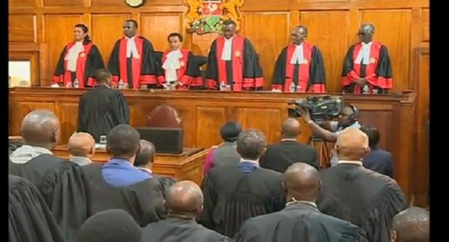 Kenya Supreme Court cancels election results