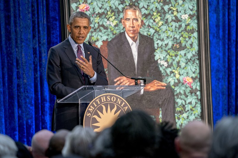 The Smithsonian's National Portrait Gallery Unveils Portrait of President Barack Obama
