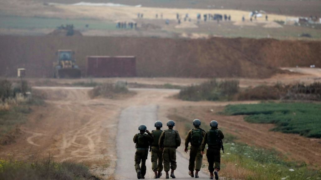 Israelis may be anxious but Palestinians in Gaza have actually been killed