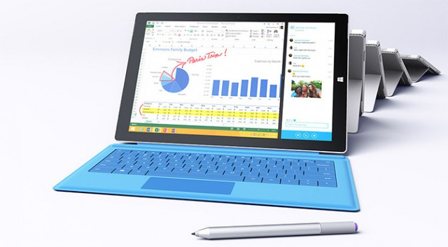 Microsoft Surface Pro 3 with Stylus