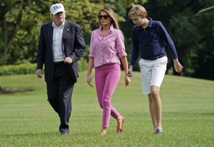 Melania Trump saying 2 words more often first lady