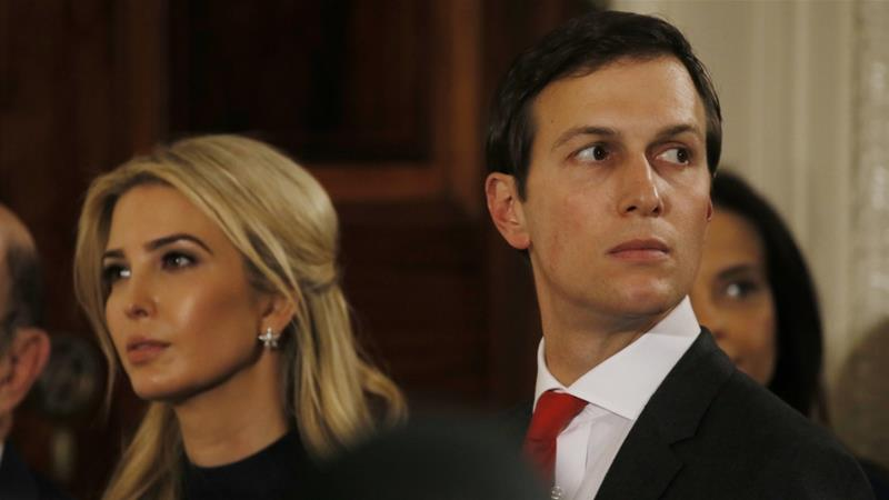 Jared Kushner is married to Ivanka Trump and serves as a key White House adviser