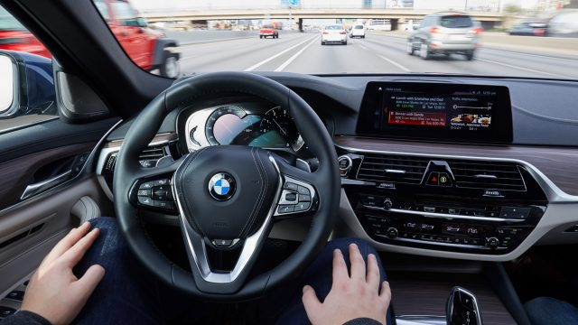 BMW Self-Driving Connected