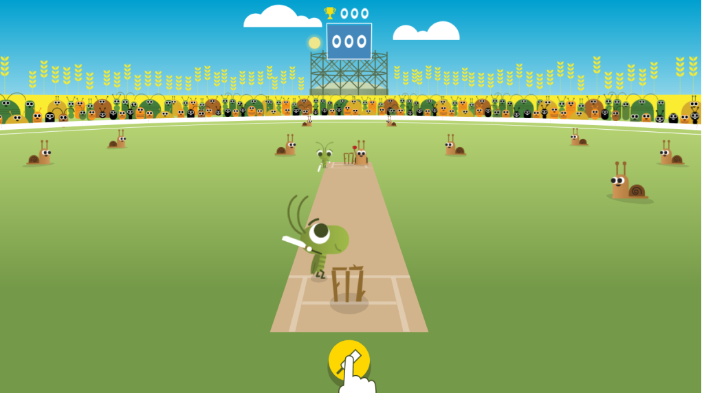 You can now play cricket on your Google homepage