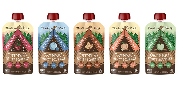 Healthy Snacks: Munk Pack Oatmeal Fruit Squeeze