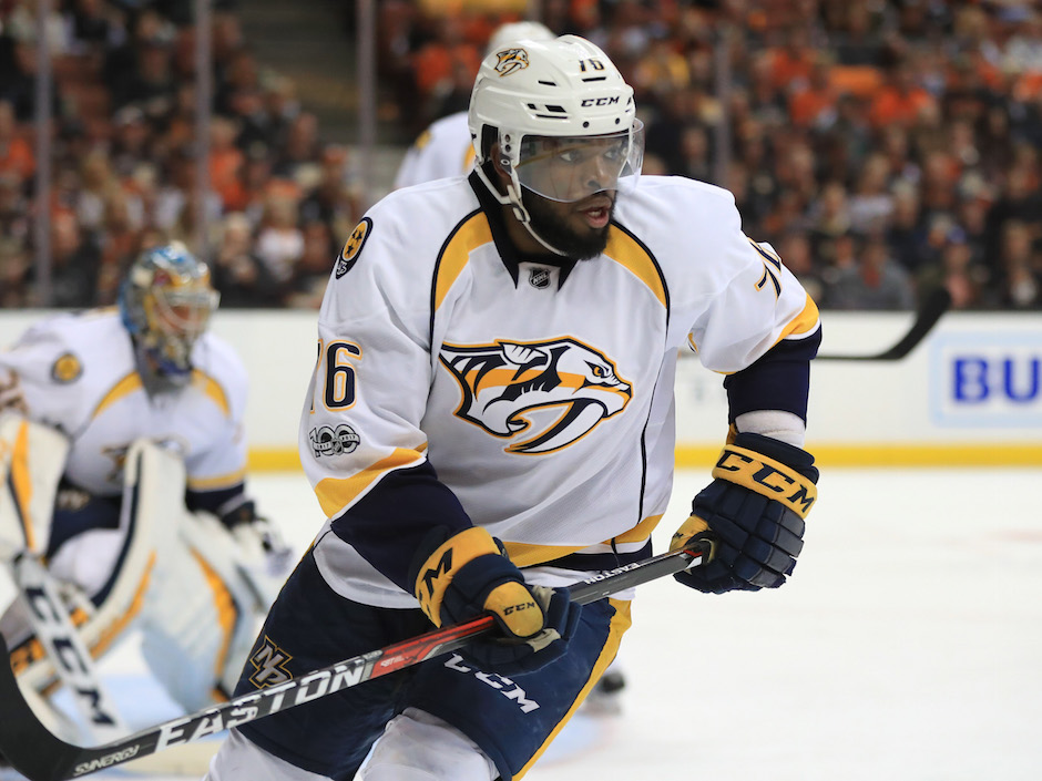 P.K. Subban had 10 goals and 40 points in 66 games this season but it wasn't an easy first year for him