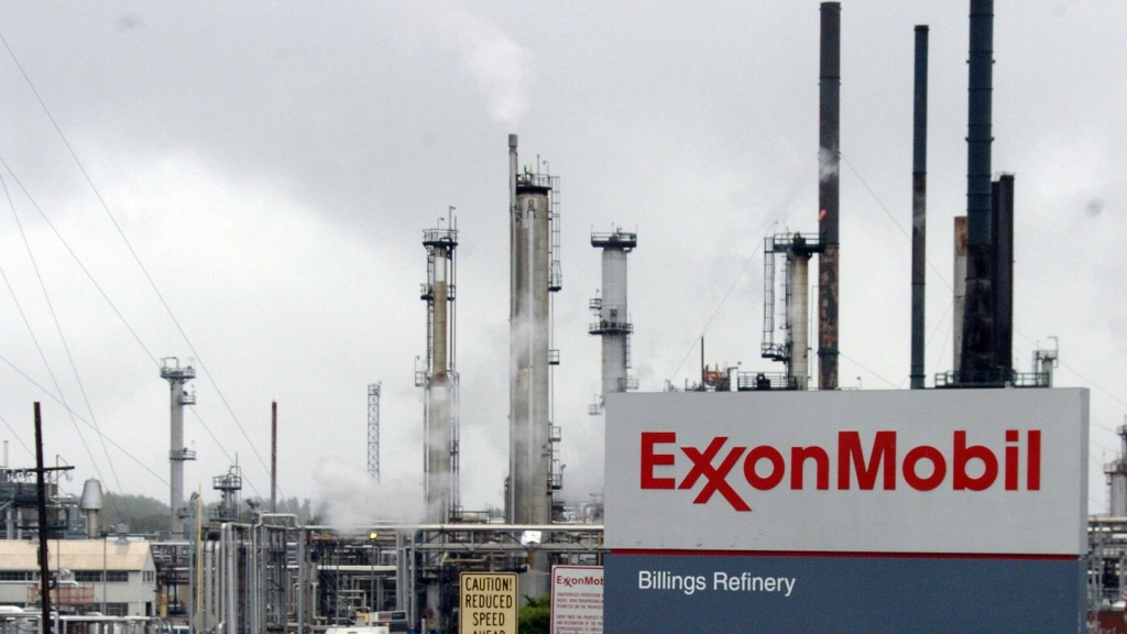 Exxon Mobil's Billings Refinery in Billings Mont