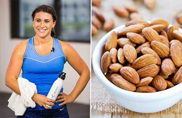 Trainer-Approved Snack Ideas: Blue Diamond 100-Calorie Nut Packages; Trainer Nora Minno, RD