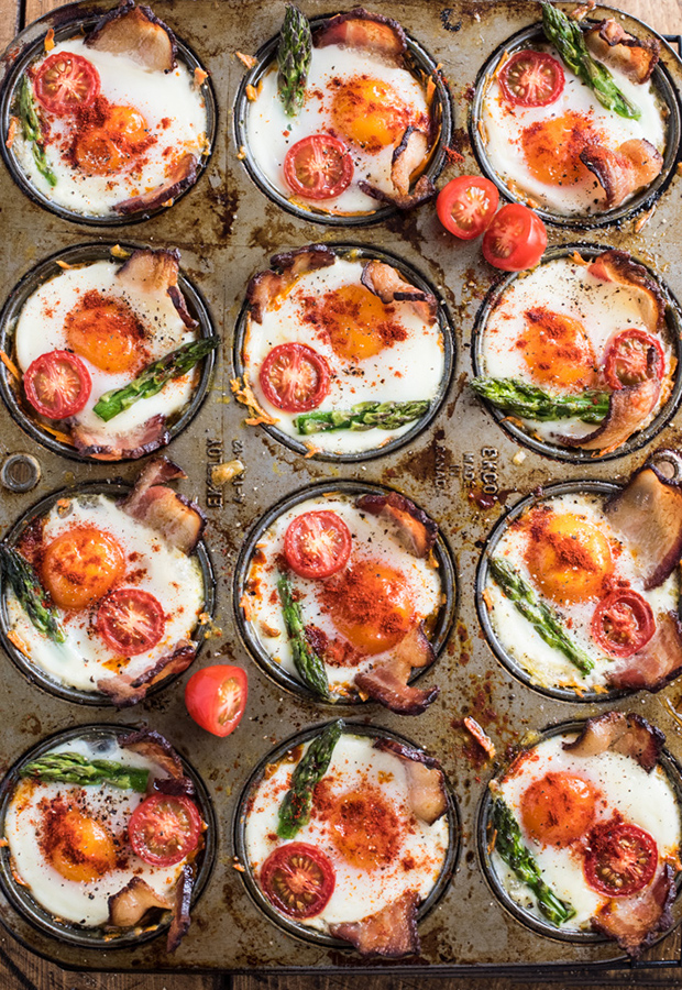 The Beginner's Guide to Collagen Powder (Plus Recipes!): Bacon and Egg Cups Recipe