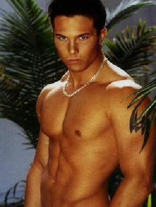 Former Power Rangers actor Ricardo Medina Jr during a start of his career. Picture: Supplied