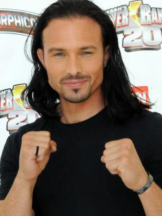 Ricardo Medina Jr. participates in a 2012 Power Morphicon 3 hold during a Pasadena Convention Centre. Picture: Getty